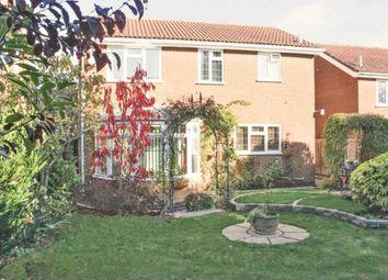 Thumbnail 4 bed detached house for sale in Edmonton Way, Oakham