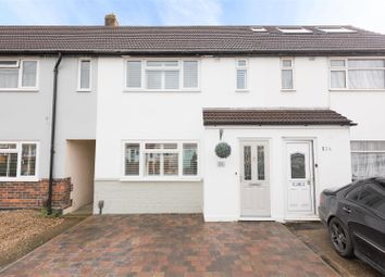 Thumbnail 3 bed terraced house for sale in Parbury Rise, Chessington