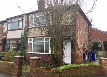 Thumbnail 2 bedroom semi-detached house to rent in Moss Bank Avenue, Droylsden, Manchester