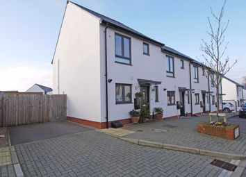 Thumbnail 2 bed end terrace house to rent in Milbury Farm Meadow, Exminster, Exeter, Devon
