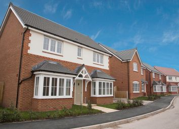 Thumbnail 4 bed detached house for sale in Eastern Road, Willaston, Cheshire