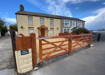 Thumbnail 3 bed cottage for sale in Gwaunmiskin Road, Beddau, Pontypridd