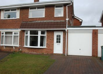 Thumbnail 3 bed semi-detached house for sale in Helston Court, Thornaby, Stockton-On-Tees