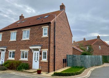 Thumbnail 3 bed semi-detached house for sale in Dairy Way, Norton, Malton