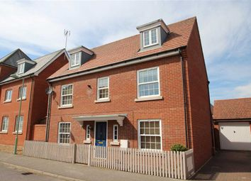 Thumbnail 5 bed detached house for sale in Peart Grove, Grange Farm, Kesgrave, Ipswich