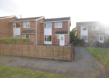 Thumbnail 3 bed semi-detached house to rent in Avenue Road, Sileby, Loughborough