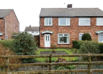 Thumbnail 2 bed semi-detached house for sale in Bondicar Road, Hadston, Morpeth