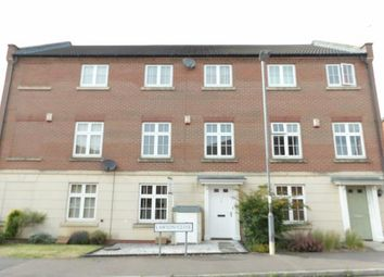 Thumbnail 4 bed terraced house for sale in Lawson Close, Sileby, Loughborough, Leicestershire