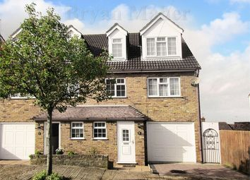 Thumbnail 4 bed town house for sale in Hillside Avenue, Wembley