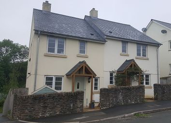 Thumbnail 3 bed semi-detached house for sale in Hobbs Row, Brayford, Barnstaple