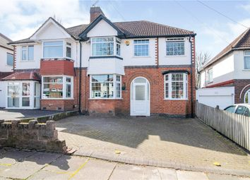 Thumbnail 5 bed semi-detached house for sale in Sheringham Road, Kings Norton, Birmingham