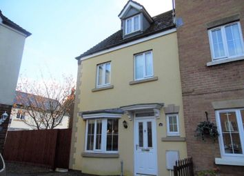 Thumbnail 4 bed town house for sale in Leyshon Way, Bryncethin, Bridgend