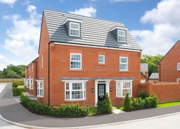 "Thumbnail 4 bed detached house for sale in ""Hertford"" at Newton Road, Newton Solney, Burton-On-Trent"