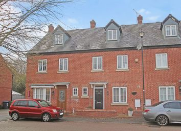 Thumbnail 4 bed terraced house for sale in Fieldfare Close, Rugby
