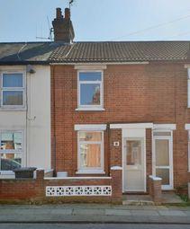 Thumbnail 2 bedroom terraced house to rent in Schreiber Road, Ipswich