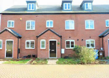 Thumbnail 3 bed town house to rent in Shielding Way, St Georges Parkway, Stafford, Staffs