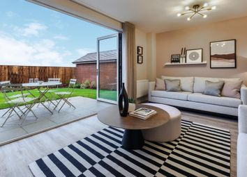 """Thumbnail 3 bed terraced house for sale in """"The Culstone"""" at Aurs Road, Barrhead, Glasgow"""