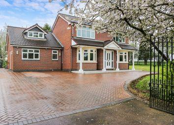 Thumbnail 4 bed detached house for sale in Furlong, Coal Pit Lane, Wolvey, Hinckley