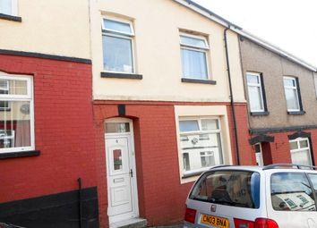 Thumbnail 3 bed terraced house for sale in Garth Street, Tonyrefail