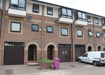 Thumbnail 4 bed terraced house to rent in Barnfield Place, Isle Of Dogs, London