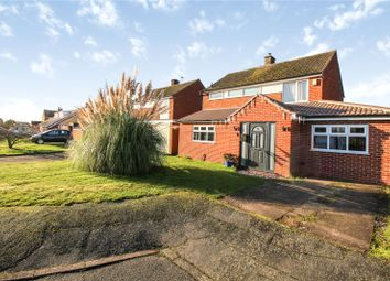 Thumbnail 3 bed detached house for sale in Ashmead Crescent, Birstall, Leicester, Leicestershire