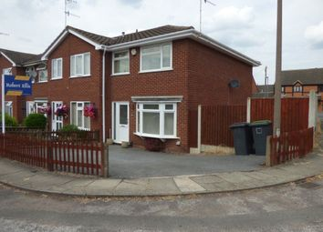 Thumbnail 3 bed terraced house to rent in Broad Oak Drive, Stapleford, Nottingham