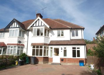 Thumbnail 4 bed semi-detached house to rent in Finchley Way, Finchley
