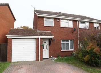 Thumbnail 3 bed semi-detached house to rent in Hollym Close, Lower Earley, Reading