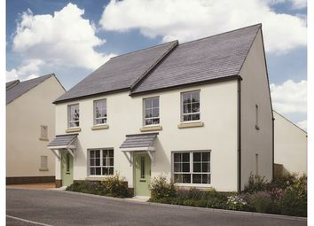 Thumbnail 3 bed semi-detached house for sale in Plots 36 & 37 Canes Orchard, Daisy Park, Brixton, Devon
