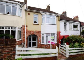 Thumbnail 3 bed terraced house for sale in Quarry Bank Road, Brighton, East Sussex