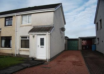 Thumbnail 2 bed semi-detached house for sale in Hawick Drive, Coatbridge