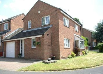 Thumbnail 3 bed link-detached house for sale in Slade Close, Broadmeadows, South Normanton, Alfreton
