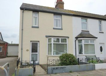 3 bed end terrace house for sale in Solway Street, Silloth, Wigton CA7