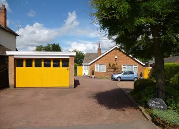 Thumbnail 3 bed detached bungalow for sale in Wigston Road, Oadby, Leicester