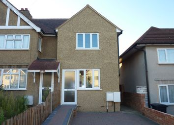Thumbnail 2 bed semi-detached house to rent in Hemsby Road, Chessington