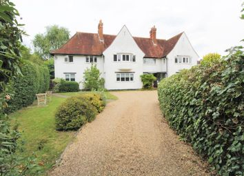 Thumbnail 3 bed flat for sale in White Lodge, Wey Manor Road, New Haw, Surrey
