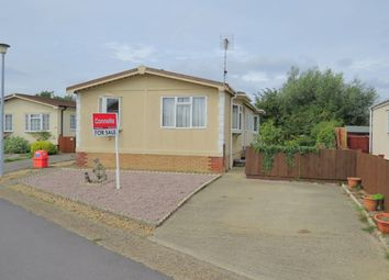 Thumbnail 3 bed mobile/park home for sale in Brookfield Home Park, Werrington, Peterborough