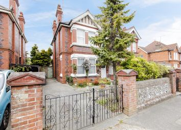 Thumbnail 4 bed semi-detached house for sale in Belsize Road, Worthing