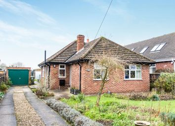 Thumbnail 2 bed detached bungalow for sale in Church Lane, Cherry Willingham, Lincoln