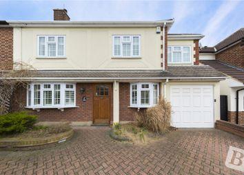 Thumbnail 4 bed semi-detached house for sale in Ingrebourne Gardens, Upminster