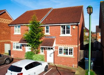 Thumbnail 3 bed semi-detached house to rent in Windmill Shott, Egham