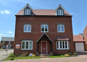 Thumbnail 5 bed detached house for sale in Henhurst Hill, Burton-On-Trent