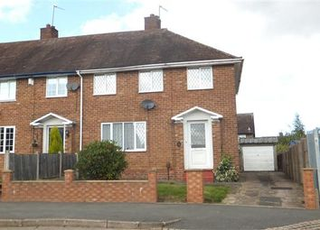 Thumbnail 3 bed end terrace house for sale in Hadland Road, Sheldon, Birmingham