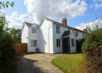 Thumbnail 4 bed semi-detached house for sale in Hundon, Sudbury, Suffolk