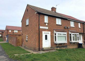 Thumbnail 2 bedroom semi-detached house to rent in Basingstoke Road, Peterlee