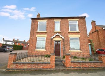 Thumbnail 3 bed detached house for sale in Leicester Road, Fleckney, Leicester