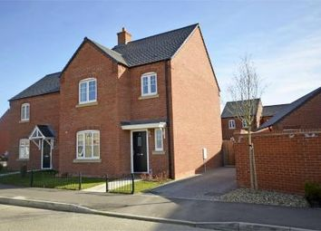 Thumbnail 3 bed semi-detached house for sale in Althorp Gardens, Raunds, Northamptonshire