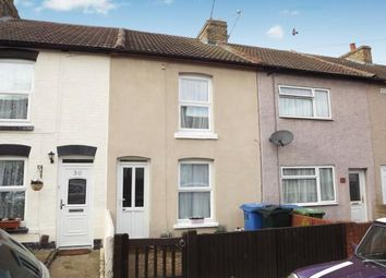 Thumbnail 2 bedroom terraced house for sale in Cowper Road, Sittingbourne