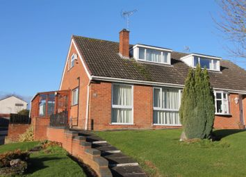 Thumbnail 3 bed semi-detached house for sale in Burley Close, Desford, Leicester