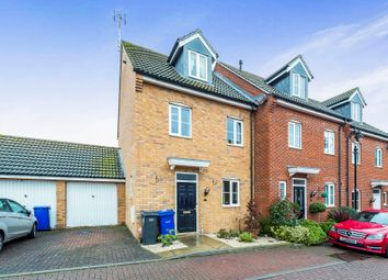 Thumbnail 4 bed town house for sale in Rutledge Close, Orsett, Grays